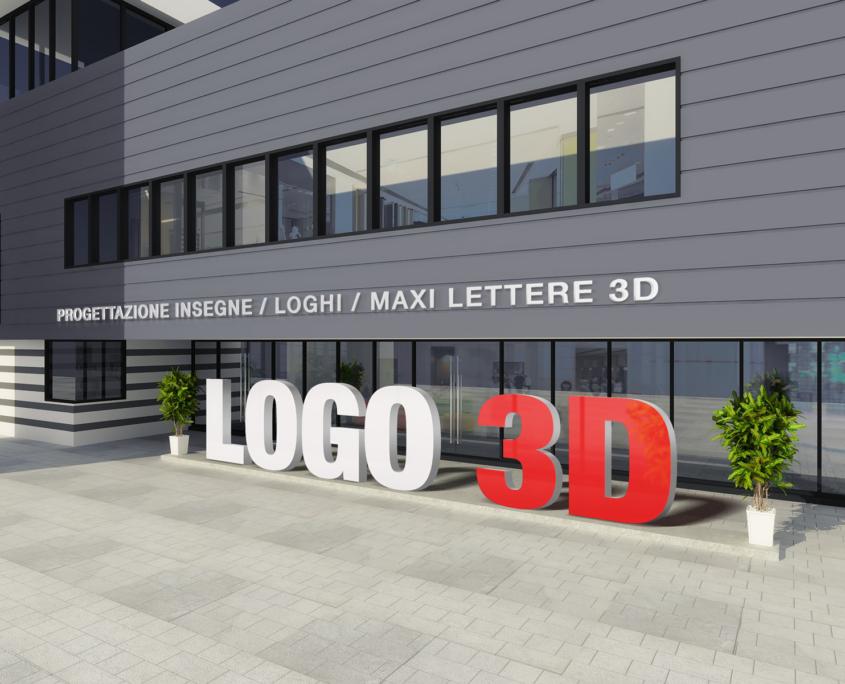Insegne 3D in Polistirolo
